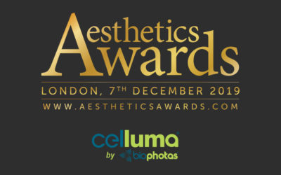 ANNOUNCEMENT: Amazing result for CELLUMA winning the coveted Aesthetics Award for 2019