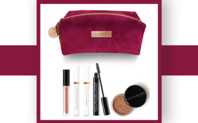 Youngblood Holiday Make-Up Bag